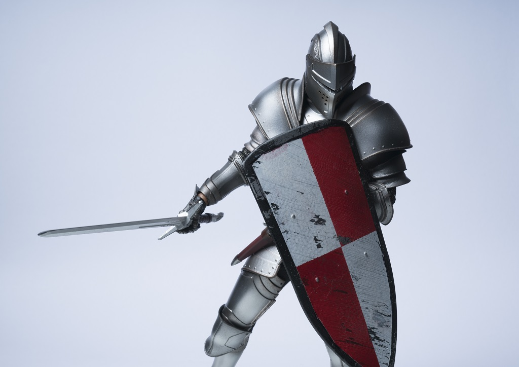 An image depicting a knight.